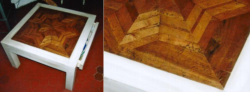 Atelier chris roussel eb niste d 39 art french cabinet maker - Table basse atelier loft ...